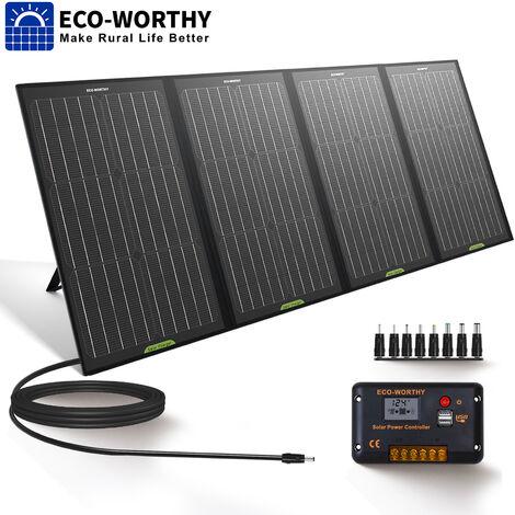 120W chargeur solaire pliable de panneau solaire pour le générateur / ordinateur portable de téléphone portable d'USB