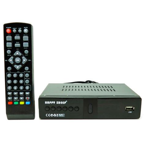 Decoder Dvb-T2 Full Hd Ricevitore Digitale Terrestre 1080 Usb Hdmi Mpeg4 Hd-888