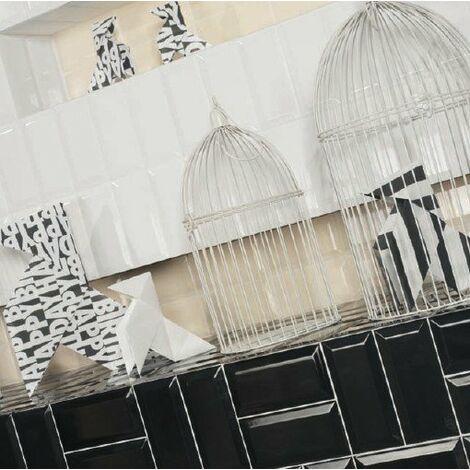 Carrelage Metro 7,5x15 blanc (carton 0,68 m²)