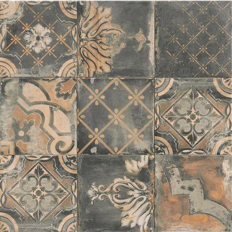 Série Canaletto Nero 20x20 (carton de 1,00 m2)