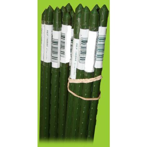 Tutor acero plastificado verde 180 cm Orework