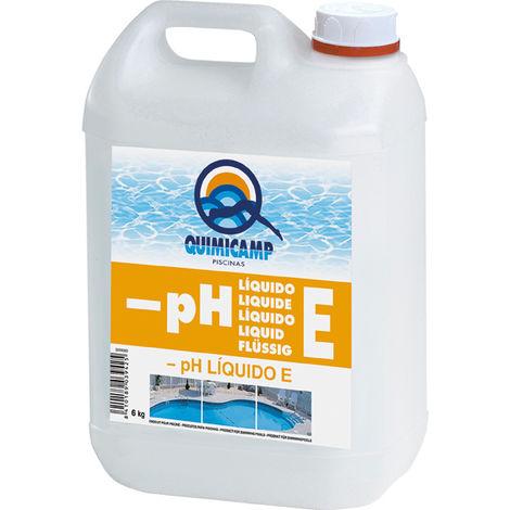 Quimicamp Reductor de PH Líquido E 6 Kg