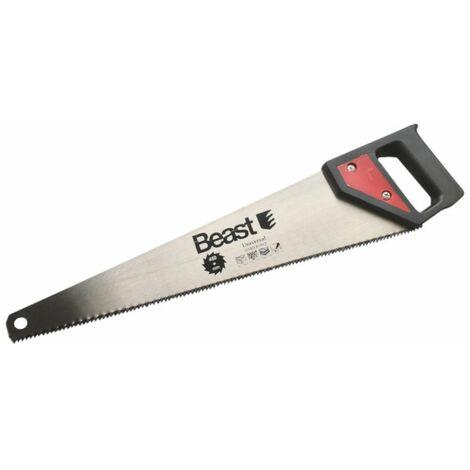 Scie égoïne à bois Hard point universelle pas de 4 mm x L. 450 mm - 531450 - Beast