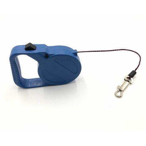 Laisse automatique à fil 3 Mètres avec mousqueton pour chien, chat 15 kg max. - 996100 - Beast
