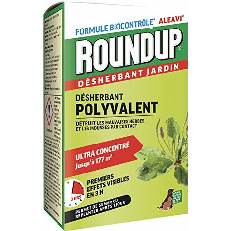Roundup Desherbant Rapide Concentre, 400 ML
