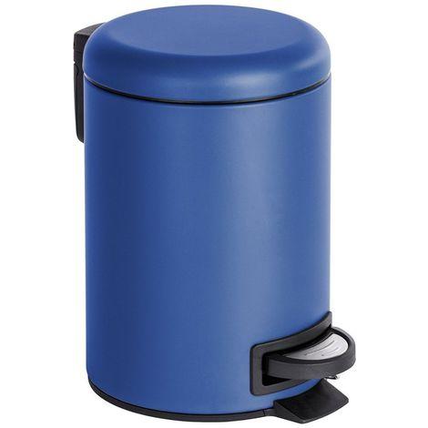 Wenko Leman Blue Pedal Bin