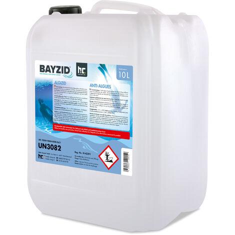 1 x 10 Liter BAYZID® Algenvernichter für Pools in Kanistern