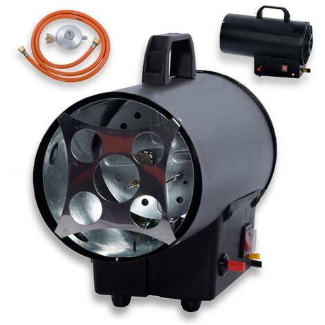 Canon à air chaud au gaz 10kW FUXTEC FX-GH10 IMPORT ALLEMAGNE