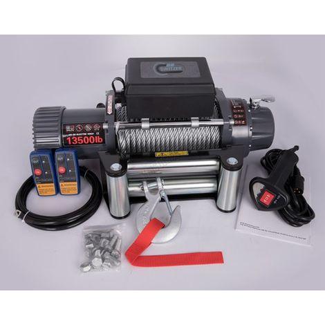 SwitZer Electric Winch 13500lbs EW04 Grey