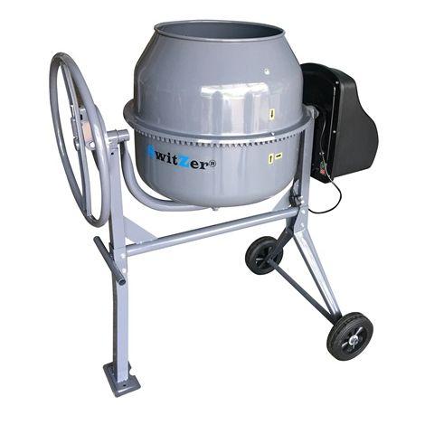 SwitZer Cement Mixer 140L Grey