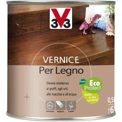 Vernice Per Legno 500 ml Incolore Satinato