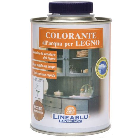 Tinta per legno colore Avorio 500 ml