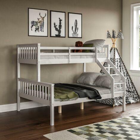 Milan Triple Sleeper Bunk Bed, White