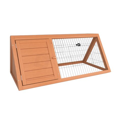 Triangle Wooden Pet Hutch