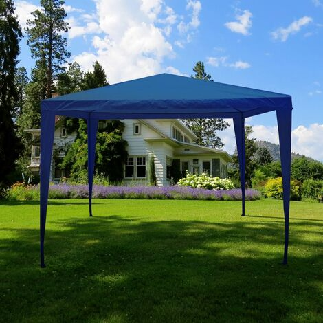 Pop Up Gazebo 3x3m, Blue
