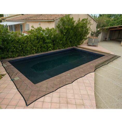 Red protectora para piscinas Werkapro 100 g/m2 6 x 10 m