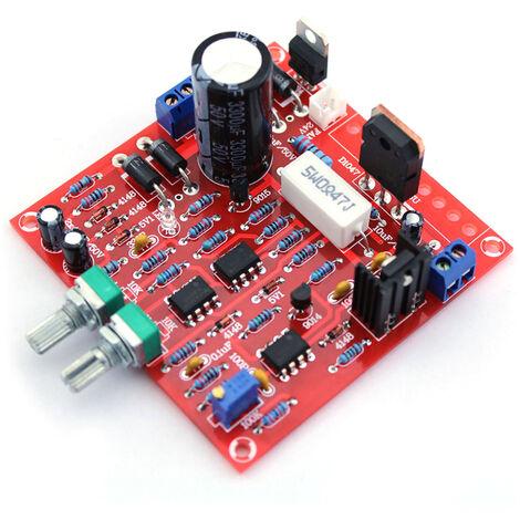 0-30V 2mA-3A Kit de bricolaje de fuente de alimentacion regulada CC continuamente ajustable