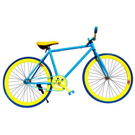 000m montaje bicicleta personalizada fixie talla m