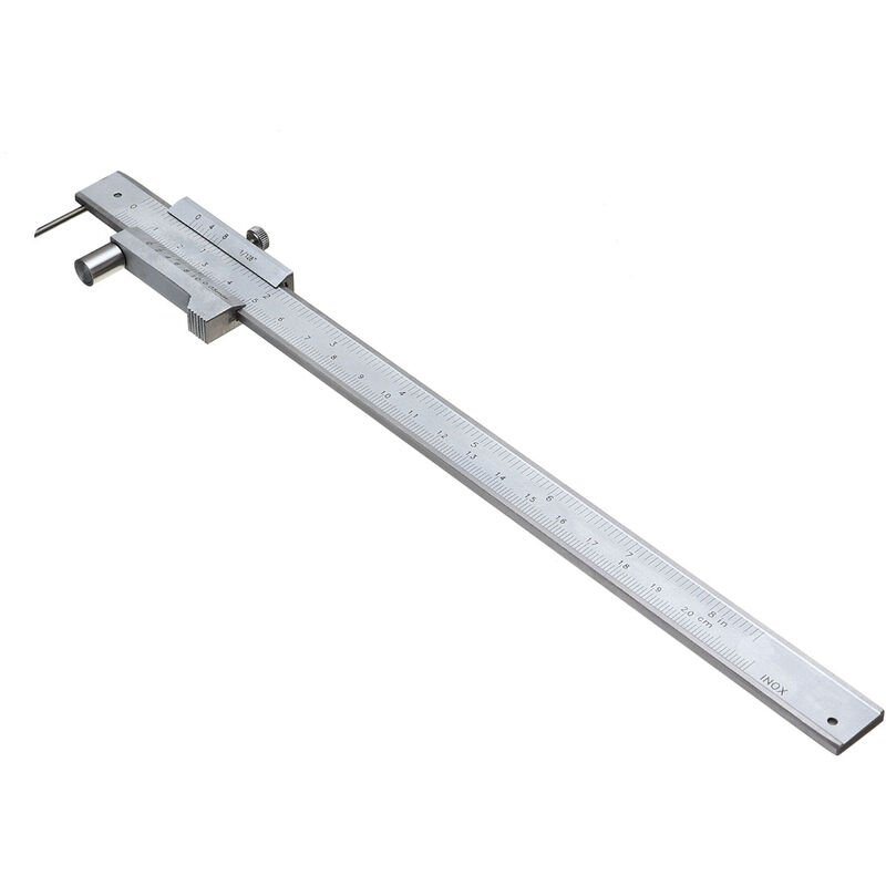 Image of 0.05mm range 0-200mm Caliper Parallel Ruler Graduation Value - Mohoo