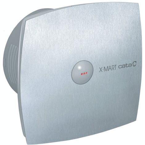 01041000 Culina XMART10TIX Stainless Steel Bathroom Extractor Fan With Timer