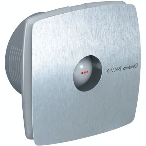 01061000 Culina XMART15TIX Stainless Steel Bathroom Extractor Fan With Timer