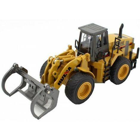 01:50 Die Cast Model (Pinces métalliques, roues en caoutchouc, fonctionnement manuel)