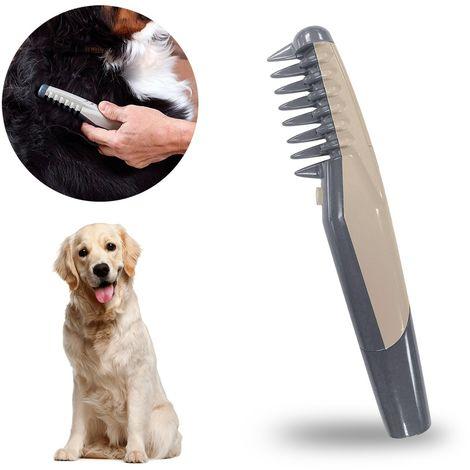045763 Peine eléctrico corta y deshace nudos para perros y gatos