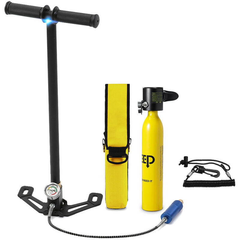 Image of 0.5L Portable Mini Tank Oxygen Bottle + Pump + Bag + Anti-lost Rope - Mohoo