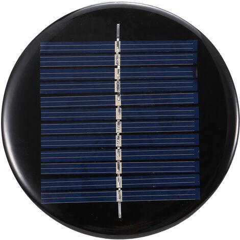 0.5W, pannelli fotovoltaici in silicio policristallino 6V epossidici, il diametro della lampada 80MM platorello