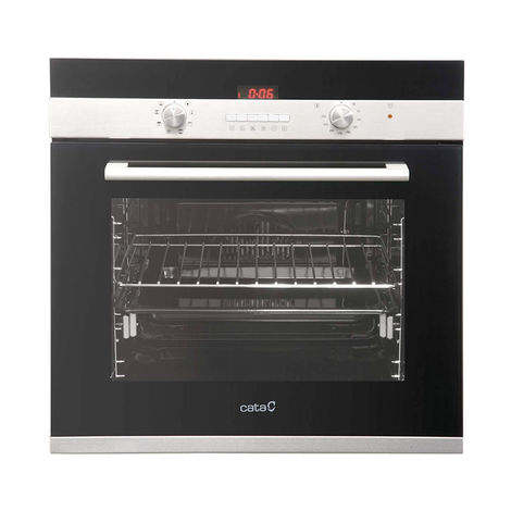 07001401 60cm Built-in Single Black True Fan Electric Oven Eco Clean