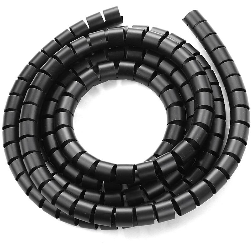 Image of 0.8' Diameter Cable Management Sleeve Wire Winding Tube Cord Bundler, 2 meters