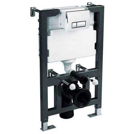0.82 - 1m Univ WC Frame, Cistern & Plate - By Voda Design