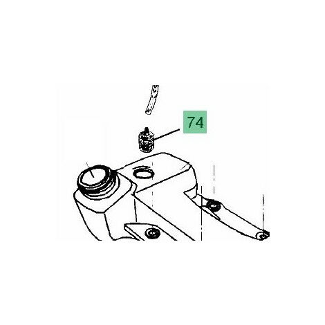 09263073 Filtre essence débroussailleuse MTD