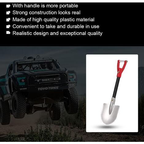 1/10 accessoires de simulation de modele de voiture pelle en aluminium