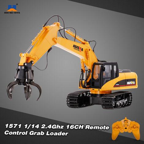 1/14 2.4Ghz 16Ch a Distance De Controle Grab Loader Grappin Tracteurs Routiers