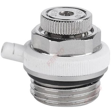 "1/2"" BSP Automatic Air Vent Auto Cut-off Self Bleeding Radiator Valve"