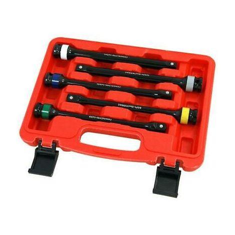 "1/2"" Drive 8"" Long Torque Limiting Socket Extension Bar Set Heavy Duty"