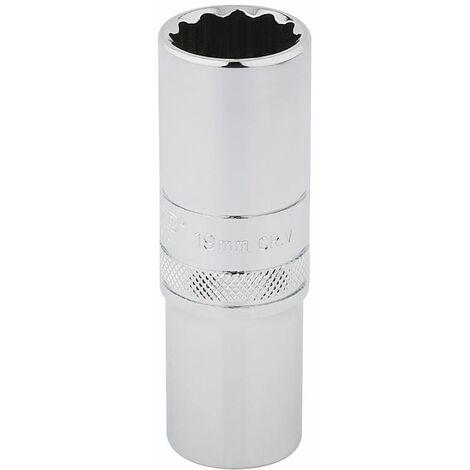 Bi-Hexagon Socket 12 Point 1//2in Drive 17mm Teng