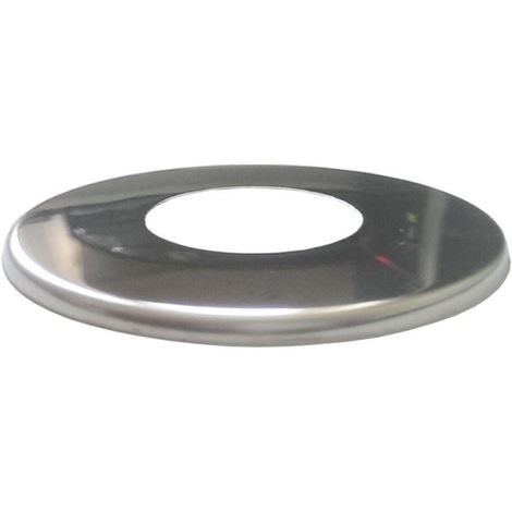 1/2inch Chrome Stainless Steel Pipe Cover Collar