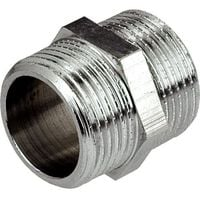 1/2x1/2inch BSP Male Thread Pipe Connection Fittings Muff