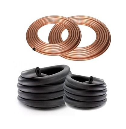 Image of 1/4 & 1/2 Copper and 9mm Lagging Set - COOLEASY