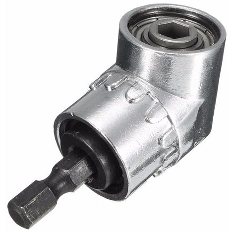 1/4 Inch Drill Shank Hex Drill Bit Driver Angle 105 degrees Adjustable Driver Angle Screwdriver Hasaki