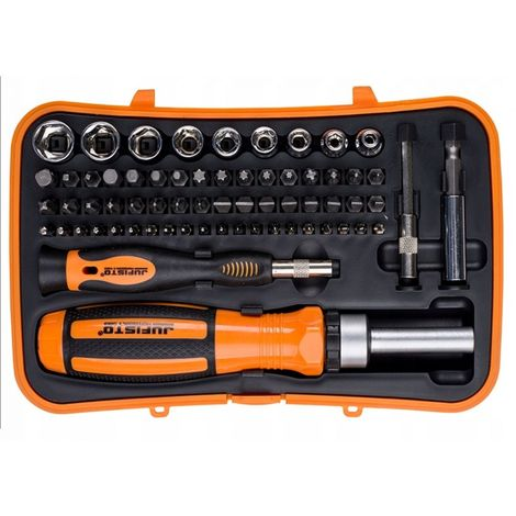 1/4 '' ratchet screwdriver set bit bits 65