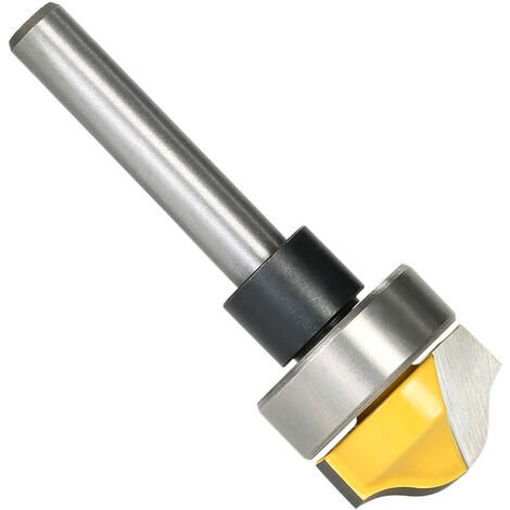 """main image of """"1/4"""" Shank Profile Groove Template Router Bit Woodworking Cemented Carbide Trim Groove Cutter Carving Tool,model: 2"""""""