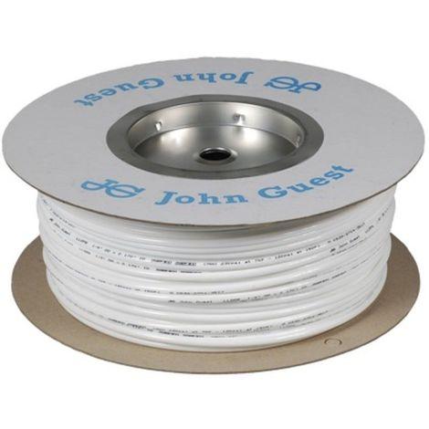 "1/4"" White John Guest Tubing 150M Coil"