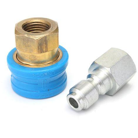 1 / 4''F x 11,6 mm raccord de raccord de tuyau de compresseur de tuyau d'air à dégagement rapide raccords LAVENTE