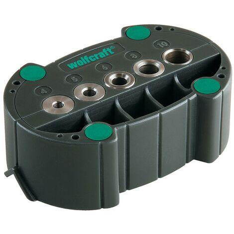 """main image of """"1 accumobil Guía para taladrar móvil Ø 4, 5, 6, 8, 10 mm Wolfcraft 4685000"""""""