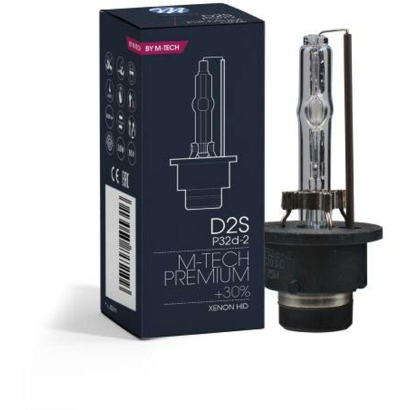 1 Ampoule D2s 6000k 35w +30
