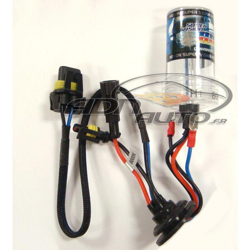 1 Ampoule H1 de rechange compatible avec kit Xenon 8000K 12V 35W