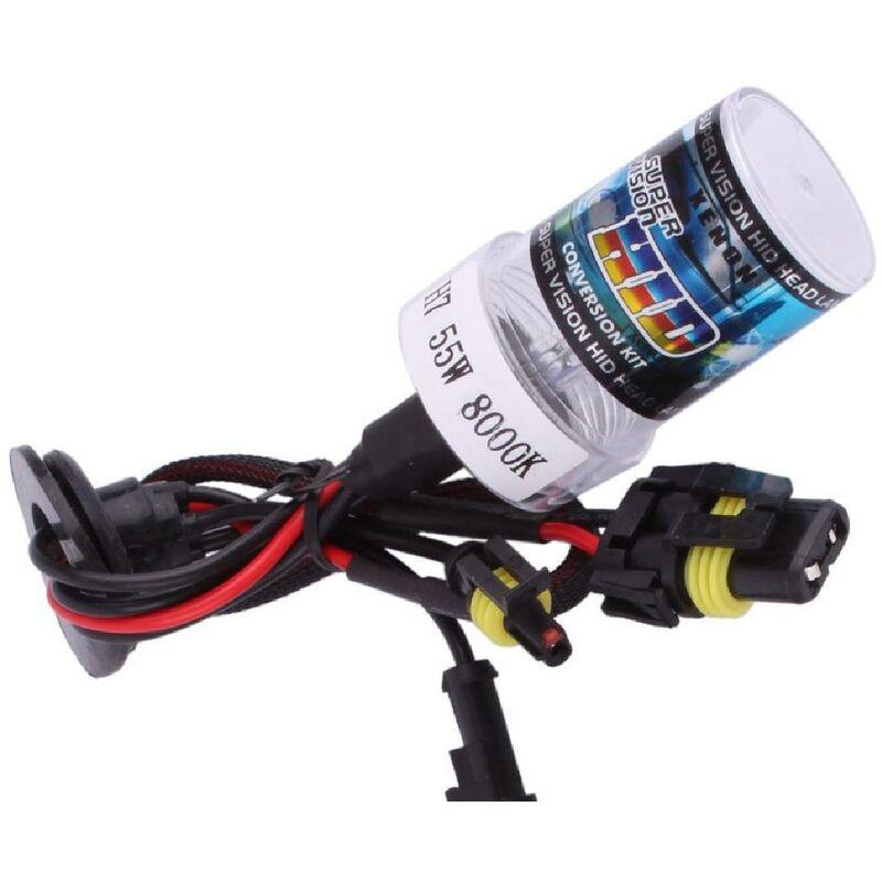 Adnauto - 1 Ampoule H13 de rechange compatible avec kit Xenon 8000K 12V 55W